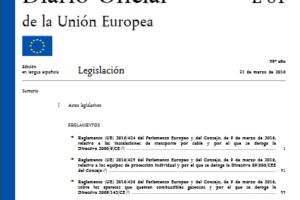 Reglamento (UE) 2016/425 relativo a los equipos de protección individual