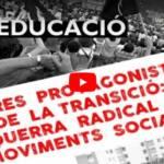 """Jornades """"Altres protagonistes de la Transició: Educació"""