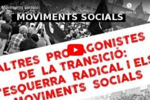 """Jornades """"Altres protagonistes de la Transició: Moviments socials"""