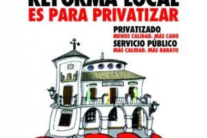 Informe sobre el proyecto de reforma de la Ley de Bases de Régimen Local