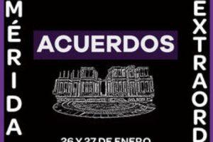 VII Congreso Extraordinario Mérida 2019