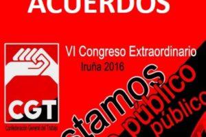 VI Congreso Extraordinario Iruña 2016