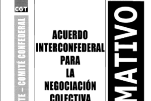 Boletín 108 : Acuerdo Interconfederal para la Negociación Colectiva
