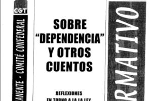 Boletín 112: Sobre 'dependencia' y otros cuentos