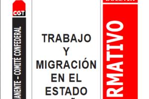 Boletín 117: Trabajo y migración en el Estado Español