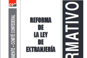 Boletín 126: Febrero de 2010 Reforma de la ley de Extranjería