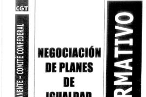 Boletín 132: Negociación de planes de igualdad
