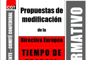 Boletín 121: Propuestas de modificación de la Directiva europea de tiempo de trabajo