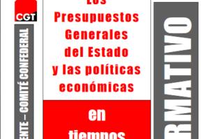 Boletín 122: Los Presupuestos Generales del Estado y las políticas económicas en tiempo de crisis