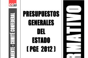 Boletín 136: Presupuestos Generales del Estado 2012