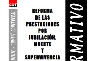 Boletín 76: Reforma de las prestaciones por jubilación, muerte y supervivencia. Revalorización de las pensiones