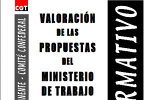 Boletín 77: Valoración de las propuestas del Ministerio de Trabajo sobre política social y empleo
