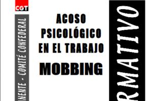 Boletín 78: Acoso psicológico en el trabajo ('mobbing')