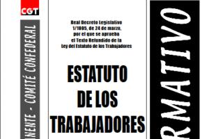 Boletín 82: Estatuto de los Trabajadores (actualizado a enero de 2003)