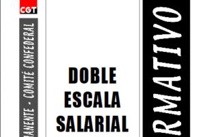 Boletín 84: Doble escala salarial