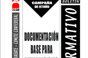 Boletín 87: Campaña de otoño: Documentación base para intervenciones