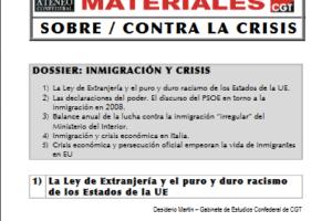 05. Dossier: Inmigración y Crisis