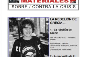 13. La rebelión de Grecia: Dos textos para la memoria presente