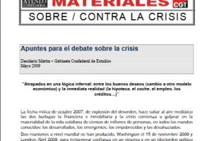 15. Apuntes para debatir sobre la crisis