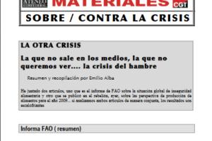 09. La otra crisis… La crisis del hambre