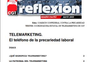 Materiales de Reflexión 04. Telemarqueting