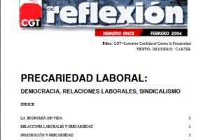 Materiales de Reflexión 11. Precariedad Laboral