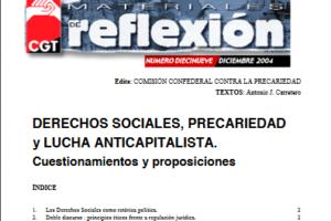 Materiales de Reflexión 19. Derechos Sociales