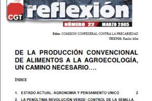 Materiales de Reflexión 22. Agroecología