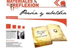 Materiales de Reflexión 56. Poesía y Rebeldía