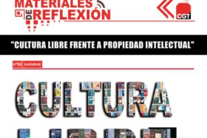 Materiales de Reflexión 58. Cultura Libre frente a la propiedad intelectual