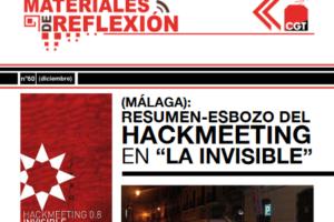 Materiales de Reflexión 60. Resumen-esbozo del 'Hackmeeting' en La Casa Invisible de Málaga