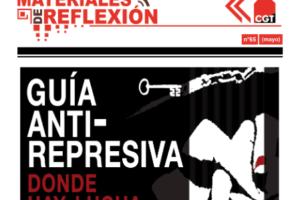 Materiales de Reflexión 65. Guía Antirrepresiva. Donde hay lucha, hay represión