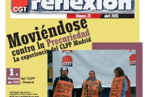 Materiales de Reflexión 23. Comisión de Lucha contra la Precariedad de Madrid