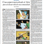 18. 'Arenas y esteras', una experiencia desde el Arte para el desarrollo de una comunidad