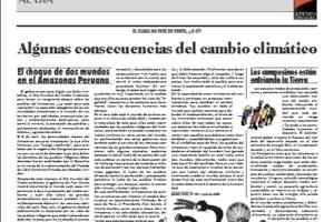 19. Algunas consecuencias del cambio climático