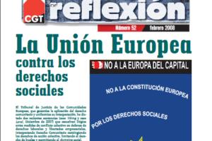 Materiales de Reflexión 52. La Unión Europea contra los derechos sociales