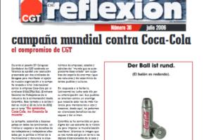 Materiales de Reflexión 36. Campaña mundial contra Coca-Cola