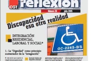 Materiales de Reflexión 26. Discapacidad