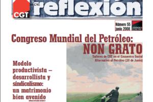Materiales de Reflexión 55 Congreso Mundial del Petroleo: 'Non grato'