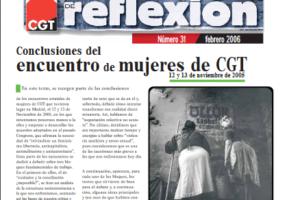 Materiales de Reflexión 31. Conclusiones del Encuentro de Mujeres de CGT