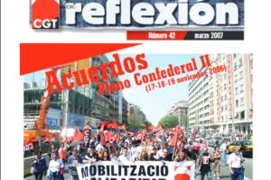 Materiales de Reflexión 42. Acuerdos del Pleno Confederal de noviembre de 2006 (II)