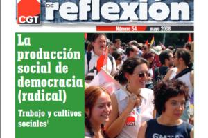 Materiales de Reflexión 54. La producción social de democracia (radical)
