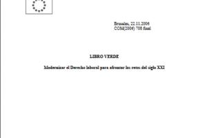Libro verde de 'flexiguridad'