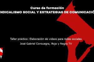 Taller práctico: Elaboración de videos para redes sociales