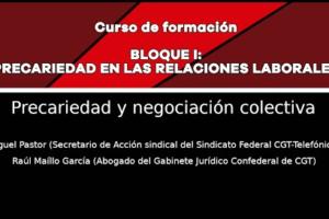 Precariedad en las relaciones laborales: Precariedad y negociación colectiva