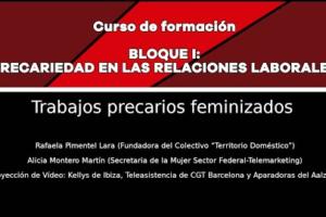 Precariedad en las relaciones laborales: Trabajos precarios feminizados