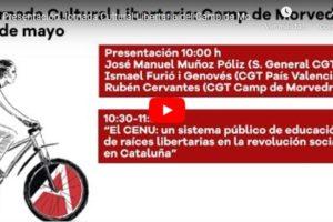 Jornada Cultural Libertaria del Camp de Morvedre: Presentación