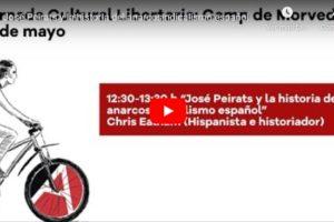 Jornada Cultural Libertaria del Camp de Morvedre: José Peirats y la historia del anarcosindicalismo español