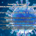 Escenarios sociales desde la pandemia