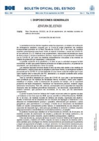 BOE: Nueva regulación de los ERTE